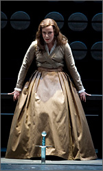 Nina Stemme as Sieglinde in the Valkyrie in Stockholm 2008. Foto: Mats Bäcker.